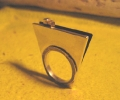 Diamantformet ring